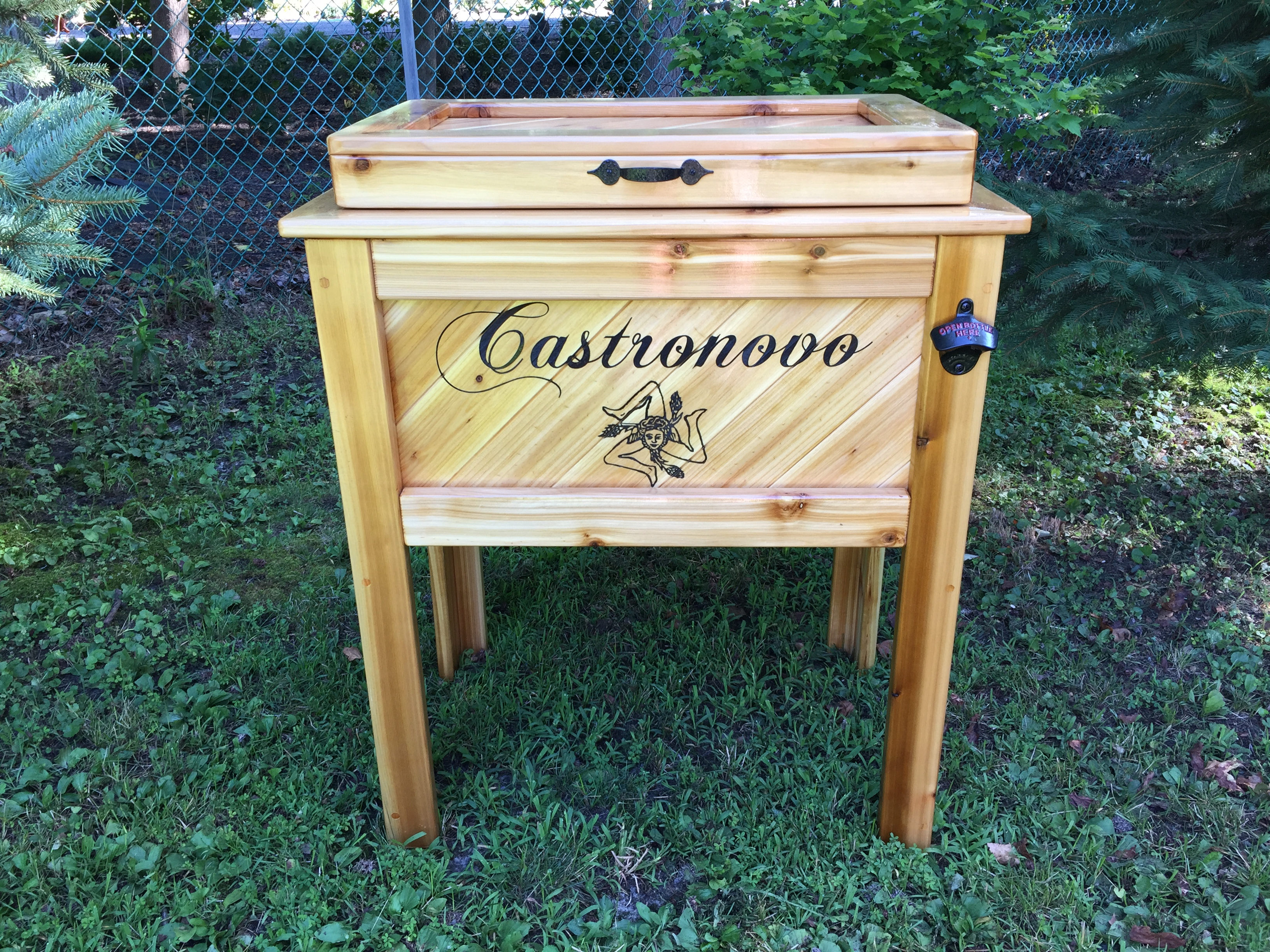 Coolers Woodpeckers Custom Coolers